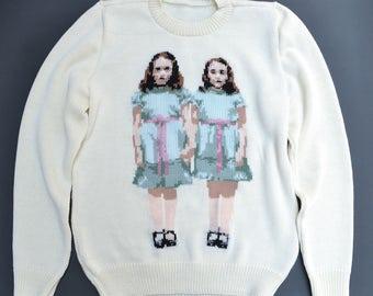 Hello Danny handmade sweater (S size)