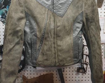 Vintage Wilsons Genuine Leather and Suede Jacket