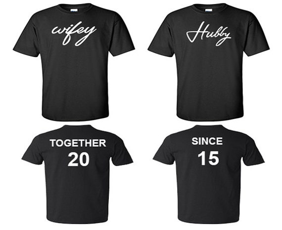 Custom Made Couple Shirts
