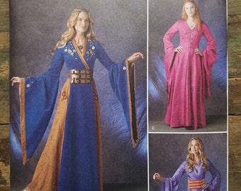 Ladies Medieval / Fantasy Costume Pattern - M-XL