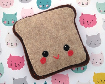 Catnip Toast Cat Toy
