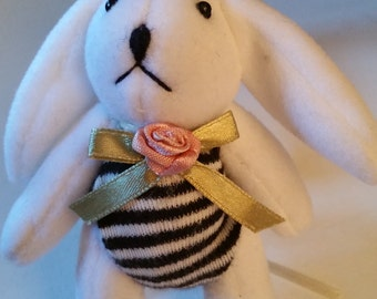 Bunny in stripped suit