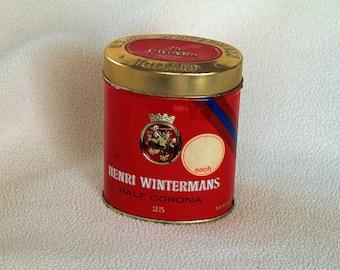 HENRI WINTERMANS - 25 Half Corona Cigar Tin