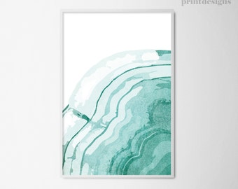 Printable Abstract Art, Modern Wall Art, Abstract Print, Modern Abstract Poster, Digital Art, Modern Print, Blue White Art Instant Download