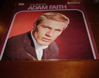 The Very Best of Adam Faith Vinyl LP,near mint condition,Early British Rock n Roll.