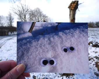 Postcard Eyes see you in winter