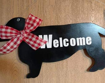 Doxie Door hanger