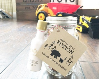Baby Making Potion Tags