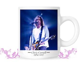 Chris Cornell Memorabilia Mug