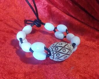 Ivory & Bone Bracelet