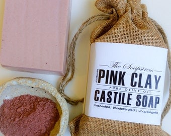 Pink Clay Castile Soap