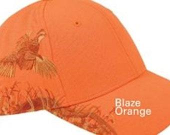Dri Duck Blaze Orange Quail Cap item # D3270