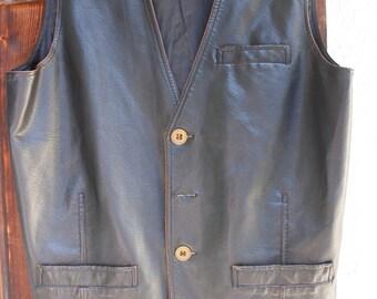 Sale! ( save30,-eu)leather jacket,M,L, brown, black, best condition