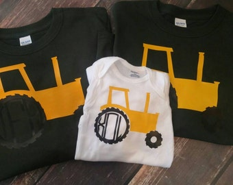 Personalized Tractor Shirt