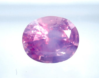 Natural Ceylon Pink Sapphire Oval Cut