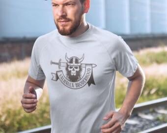 Viking Warrior Valhalla T-Shirt, Viking Helmet, Warrior Sword, Valhalla Warrior print, Viking Warrior Print, Viking Print. Valhalla Viking.