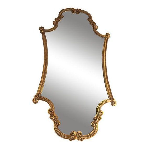 Gold Leaf Art Deco mirror