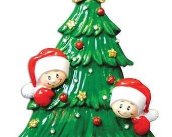 Christmas Tree Family of 2