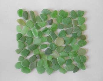 Verre plage mer vrac 85 lot morceaux vert fournitures accessoires brut ocean bijoux perles mosaique collage activites manuelles loisirs