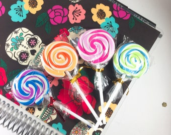 Candy - Lollipop - Erasers