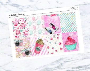 BFF Weekly Kit/ Planner Stickers