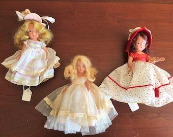 Bisque Movable Leg Nancy Ann Storybook Doll