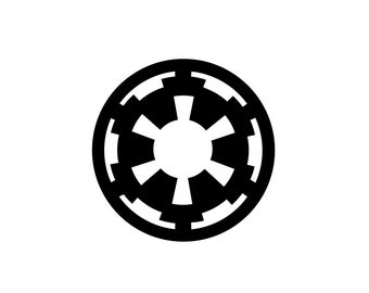Imperial Decal - Star Wars Decal / Star Wars Art / Vinyl Decal / Star Wars Print