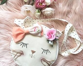 Miss Blossom Kitty Purse
