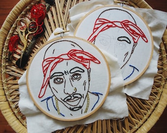 Tupac Embroidery