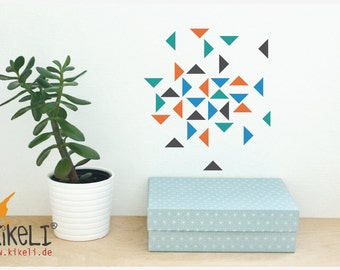 Wall triangles wall sticker furniture stickers - Seville