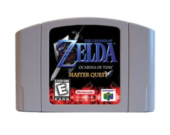 Legend of Zelda: Ocarina of Time Master Quest N64 Reproduction Cartridge for Nintendo 64 - Free Shipping!