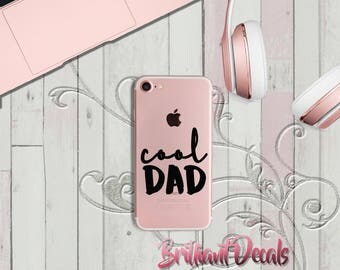 Fathers day gift,iPhone decal,Cool dad sticker, cool dad decal,iPhone Custom Decal,iPhone trendy decals,Sticker, phone decal, phone sticker