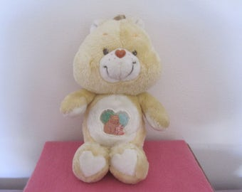 Vintage Care Bear Forest Friends rare UK exclusive 1983, 36cm American Greetings, plush, gift, Care Bear collector,  nostalgia
