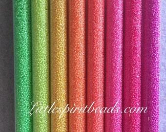 Miyuki neon size 15/0 beads