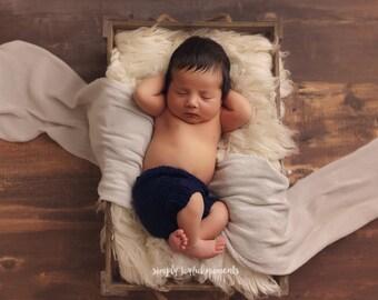 Newborn Boy Props, Newborn Photo Props, Newborn Boy Shorts, Newborn Bottoms, Newborn Knit Shorts, Knit Newborn Props, Knit Baby Props