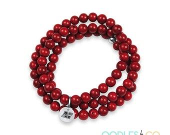 Baseball  Mom | Baseball Mom Bracelets | Baseball Mom Jewelry | Football Bracelets | Football Mom Jewelry | Muskego Warriors | School Spirit