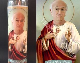 Larry David Devotional Prayer Saint Candle