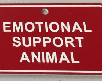 Emotinal Support Animal Tag