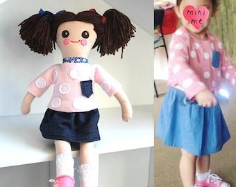 Mini Me Rag Doll