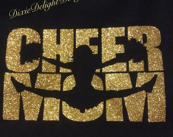 Cheer Mom Shirt - Customize Your Colors!