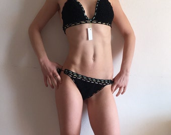 crochet swimwear crochet bikinis summer sea