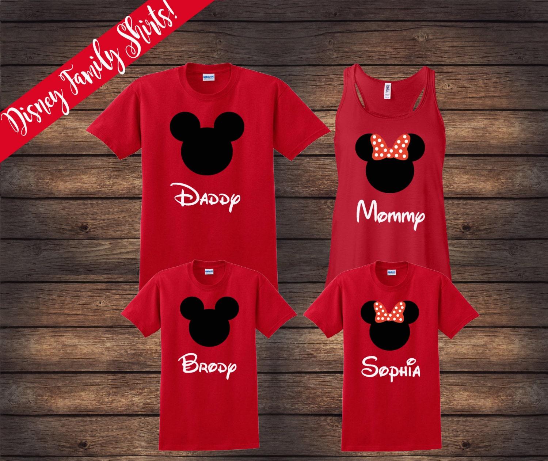 Disney Family Shirts Matching Family Shirts Disney Shirts