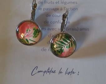 Earrings 'flowers'