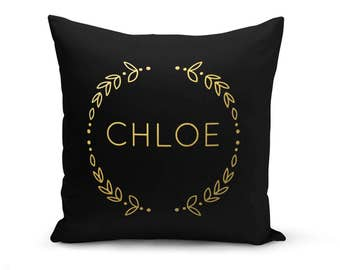Name Pillow, Personalized Pillow, Initial Pillow, Custom Wedding Pillow, Custom Pillow, Pillow