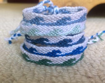 Wave Style Friendship Bracelets