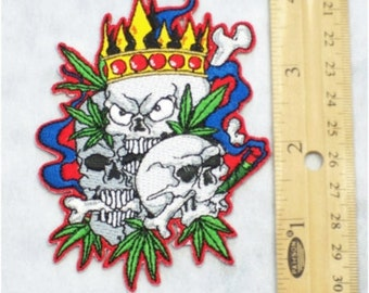 Cannabis King Patch