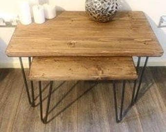 nest of tables, coffee table, side table, nest of coffee tables, wood coffee table, end table