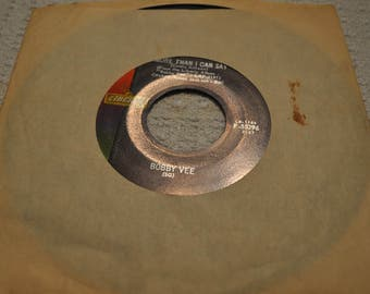 Bobby Vee, More than I can say/Stayin In, Liberty records 45