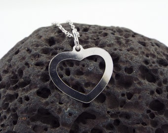 Heart Necklace 925 Silver necklace