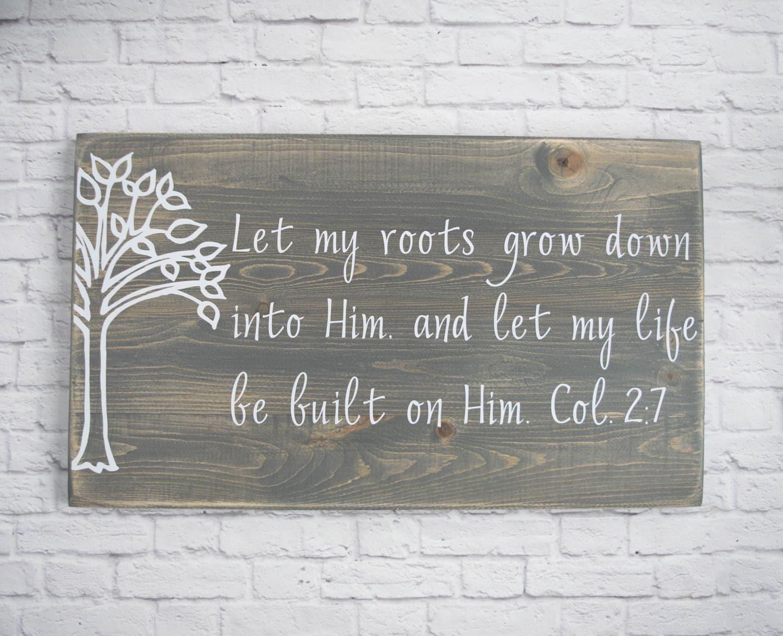 christian wood sign bible verse wall art scripture wall. Black Bedroom Furniture Sets. Home Design Ideas